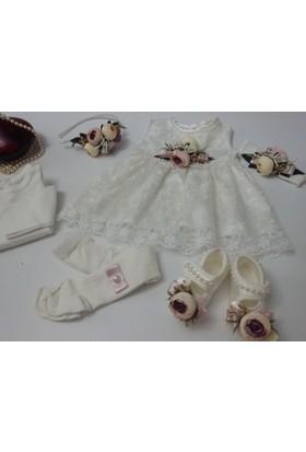 Derin Bebe Bebek Mevlüt Elbisesi, Lohusa Tacı, Tam Takım