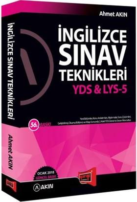 Akın Dil & Yargı Yayınları 2018 Yds & Lys-5 İngilizce Sınav Teknikleri 56. Baskı