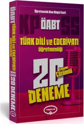 Yediiklim Yayınevi Öabt Türk Dili Ve Edebiyatı Öğretmenliği Tamamı Çözümlü 20 Deneme