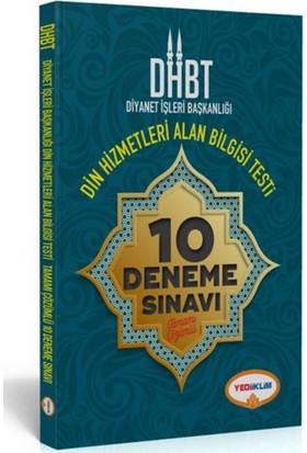 Yediiklim Yayınevi Dhbt Diyanet İşleri Başkanlığı Din Hizmetleri Alan Bilgisi Testi 10 Tam Çöz Deneme Sınavı