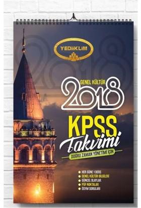 Yediiklim Yayınevi 2018 Kpss Genel Kültür Kpss Takvimi