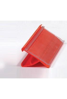 Sac Raf Etiketliği Pvc Korumalı Kırmızı 40 mm x 100 mm 100 'lü