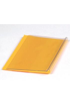Yapışkanlı Etiketlik Şeffaf Sarı 50 mm x 100 mm 100 'lü