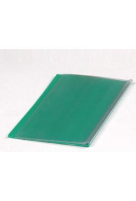 Yapışkanlı Etiketlik Şeffaf Yeşil 55 mm x 100 mm 100'lü