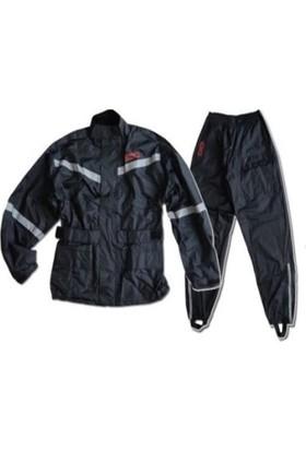 Motor Yağmurluk Takım XXL Scoyco (Alt-Üst) Siyah 034