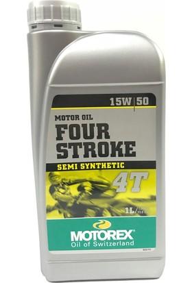 Motorex 4T Yarı Sentetik Motor Yağı 15W/50 **1Lt**