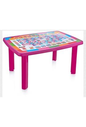 Plastart Desenli Çocuk Masası