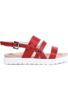 Pegia Gabrielle Deri Kadın Sandalet Rec-001