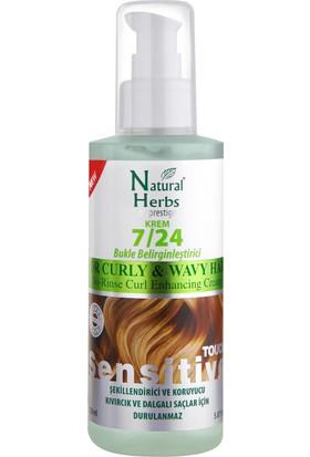 Natural Herbs 7/24 Krem Bukle Belirginleştirici Saçta Kalan Krem