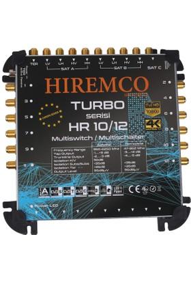 Hiremco 10/12 - 12 Çıkışlı Sonlu MultiSwitch Santral
