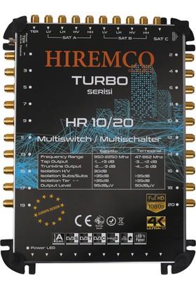 Hiremco 10/20 - 20 Çıkışlı Sonlu MultiSwitch Santral