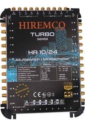 Hiremco 10/24 - 24 Çıkışlı Sonlu MultiSwitch Santral