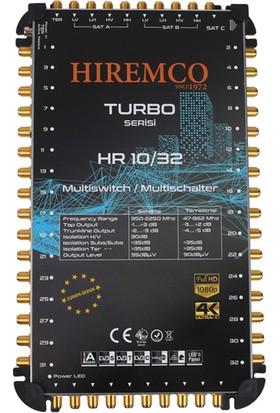 Hiremco 10/32 - 32 Çıkışlı Sonlu MultiSwitch Santral