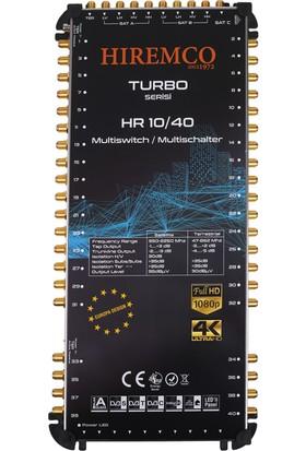 Hiremco 10/40 - 40 Çıkışlı Sonlu MultiSwitch Santral