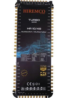 Hiremco 10/48 - 48 Çıkışlı Sonlu MultiSwitch Santral