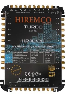 Hiremco 10/20 - 20 Çıkışlı Kaskatlı MultiSwitch Santral