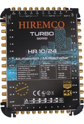Hiremco 10/24 - 24 Çıkışlı Kaskatlı MultiSwitch Santral