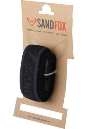 Sandfox Flex Siyah Kemer