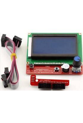 Nanotron Grafik LCD 12864 Akıllı Kontrol Birimi RAMPS 1.4 Uyumlu