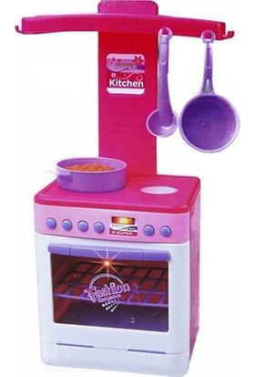 Kılıfkapakdünyası Oyuncak Mutfak İçin Ocaklı Fırın Sesli Oyuncak