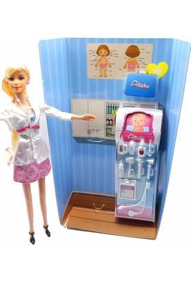 Kılıfkapakdünyası Barbie Bebek Ben Büyüyünce Oyun Seti Tarz Bebek Seti Doktor Bebek