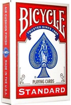 Bilardoavm Orjinal Bicycle Standart Oyun Kağıdı (Bicycle Kırmızı İskambil Oyun Kağıdı)