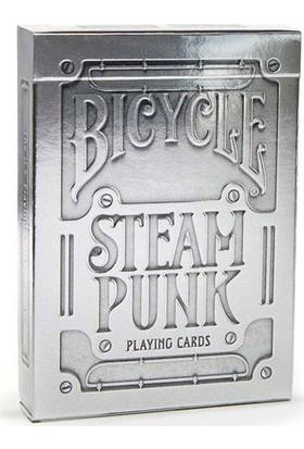 Bilardoavm Bicycle Steampunk Silver Oyun Kartı Destesi ( Bicycle Koleksiyonluk Oyun Kağıdı)