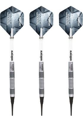 Unicorn 4780 Silverstar M.Smith Tungsten 18 Gr Elektronik Dart Oku Seti