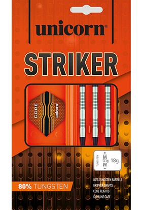 Unicorn 25031 Core Xl Striker Style2 19Gr Elektronik Dart Oku Seti