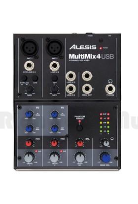 Alesis Multimix 4 Usb Mixer -