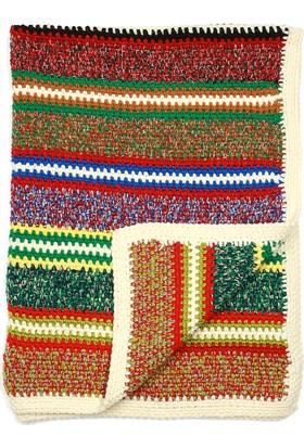 Momandkash Çizgili Battaniye