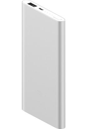 Xiaomi 5000 mAh (Versiyon 2) Taşınabilir Şarj Cihazı Gri (İnce ve Hafif Kasa)