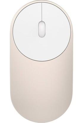 Xiaomi Mi Portatif Mouse / Fare 2 Bilgisayar Destekli Bluetooth ve Kablosuz Alıcılı Altın - Global Versiyon