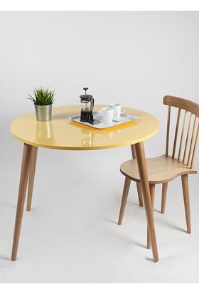 Yuvarlak Masa Sarı
