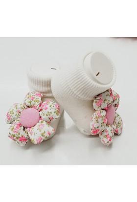 Bumbo Çiçekli Çorap