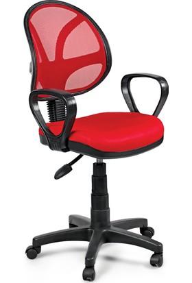 AdeOfis Fileli Ortopedik Bilgisayar Çalışma Sandalyesi