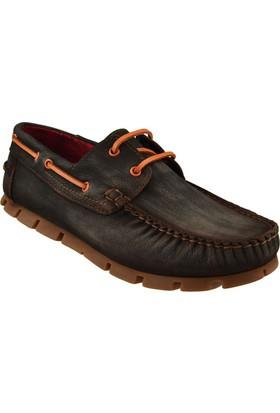 Antik 411 Napa Kahverengi Açma Ayakkabı