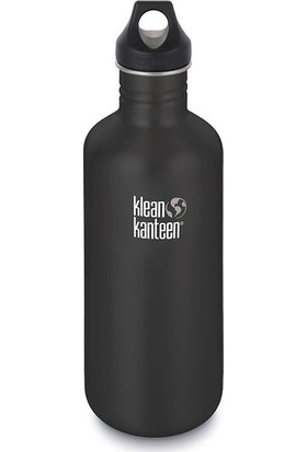 Klean Kanteen Classic 40 Oz Loop Shale Black