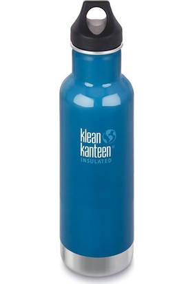 Klean Kanteen Insulated Classic 20 Oz Loop Brushed