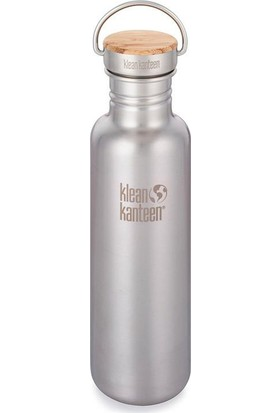 Klean Kanteen Reflect 27 Oz Bamboo Brushed Stainless