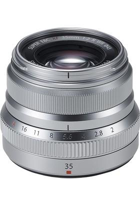 Fujifilm Fujinon Xf 35Mm F2 R Wr Lens Gümüş ( Outlet )