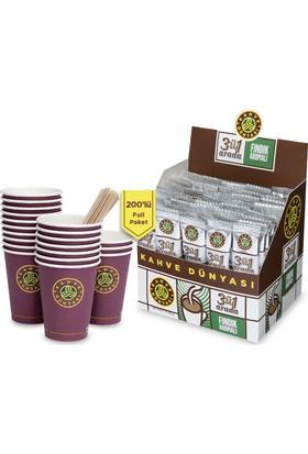 Kahve Dünyası 3'ü 1 Arada 200'lü Full Paket Fındıklı