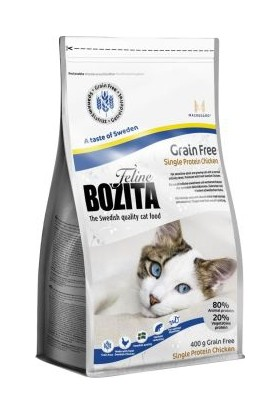 Bozita Tahılsız Tavuk Etli Kedi Maması 10 kg