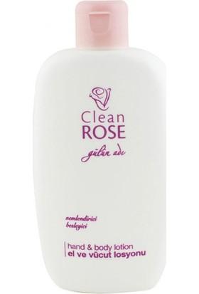 Clean Rose El Ve Vücut Losyonu