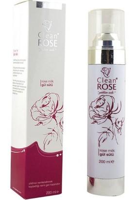Clean Rose Gül Sütü (200 Ml)