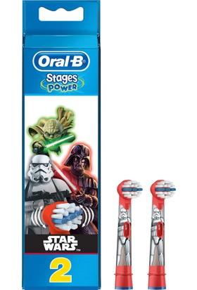 Oral-B Stages Diş Fırçası Yedek Başlığı Çocuklar İçin 2 Adet Star Wars