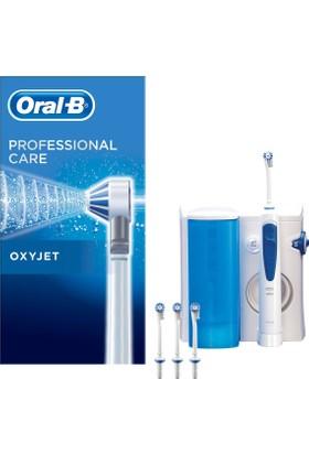 Oral-B Ağız Duşu Pro-Care Oxyjet Md20 + 3 OxyJet Yedek Başlık + Su Haznesi