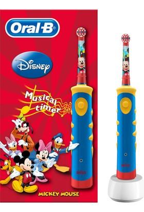 Oral-B Şarj Edilebilir Diş Fırçası Çocuklar İçin Mickey D10
