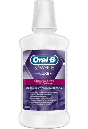 İpana Oral B Ağız Çalkalama Suyu 3 Boyutlu Beyazlık Luxe 500 ml