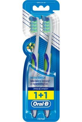 Oral-B Diş Fırçası Pro-Expert Cross Action Ekstra Temizlik 40 Orta İkili Paket